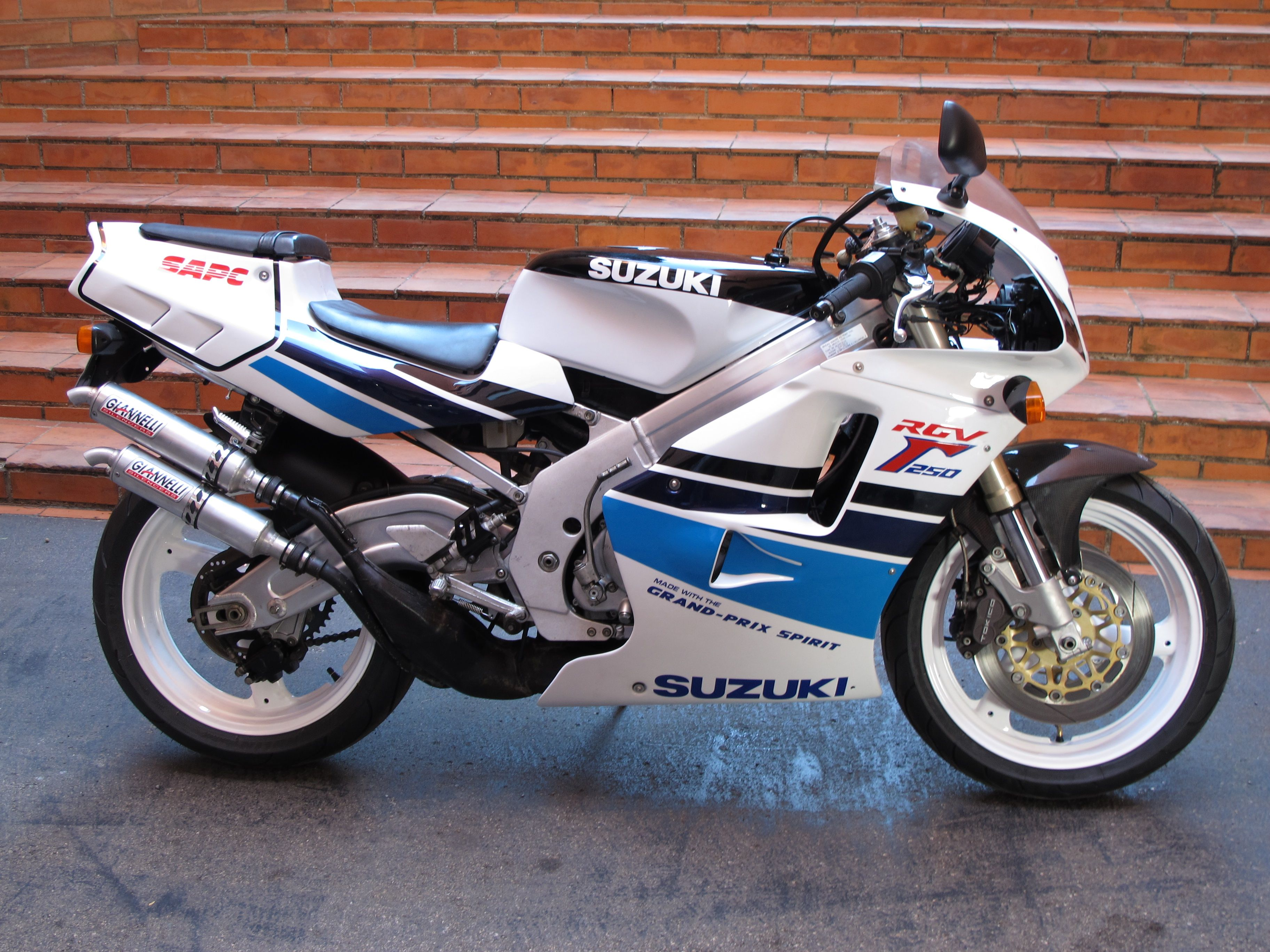1992 Suzuki RGV 250 Gamma  My dream, Made with the Grand Prix Spirit...