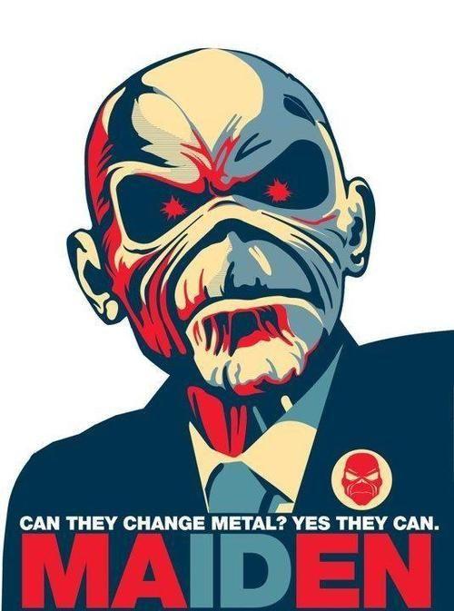 Eddie Iron Maiden Logo