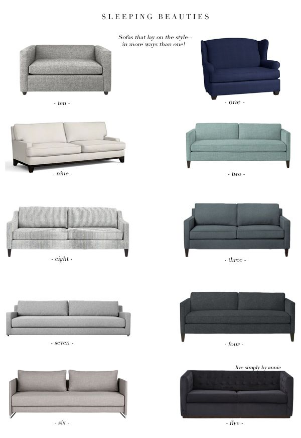 Guests And Limited E Co Exist Super Stylish Sleeper Sofas