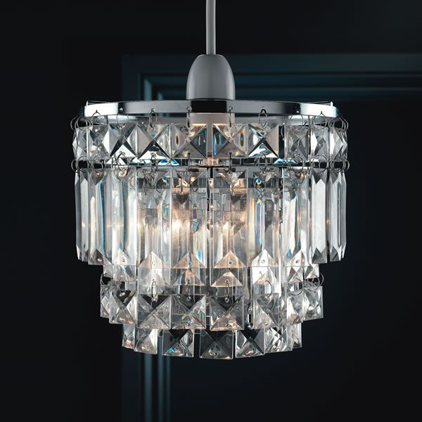 Wilko simone pendant non electric shade 3 tier simone lighting from wilkinson plus chandelier lampsceiling