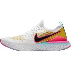 Photo of Nike Men's Epic React Flyknit 2 Running Shoes, Size 45 in White NikeNike