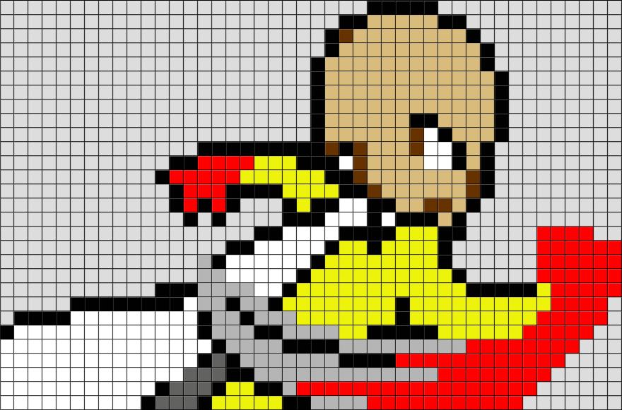 One Punch Man Saitama Pixel Art Pixel Art Pixel Art