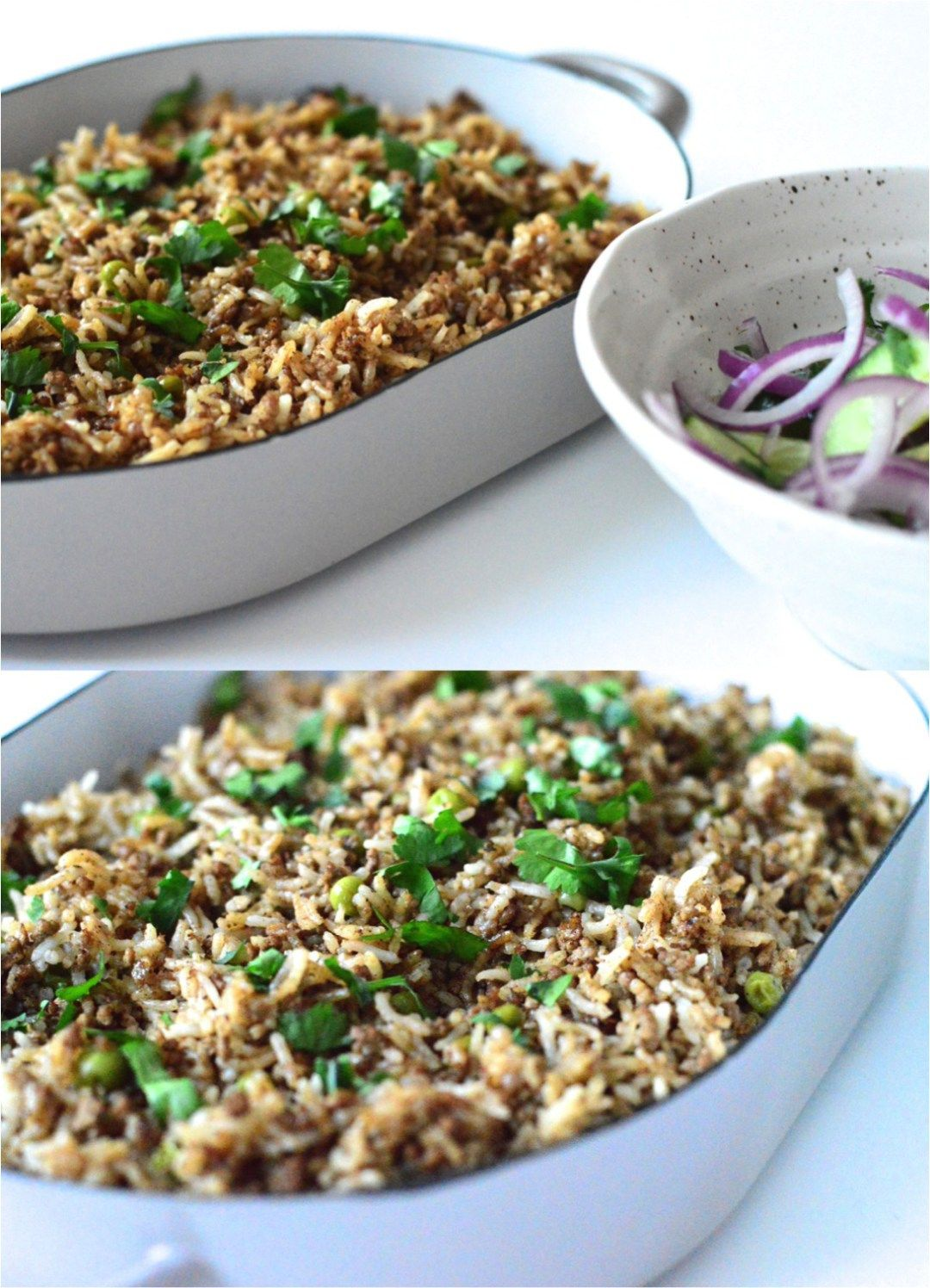 Spiced Lebanese rice with mince | Mince recipes, Lamb ...