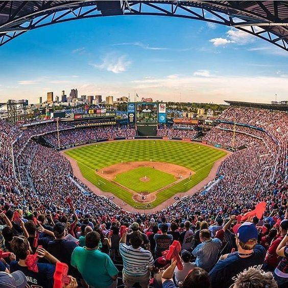 F A R E W E L L . Goodbye to the TED. Stunning snap of the last inning of the last game via @Wallace Montgomery Jr.. #atlantasnaps