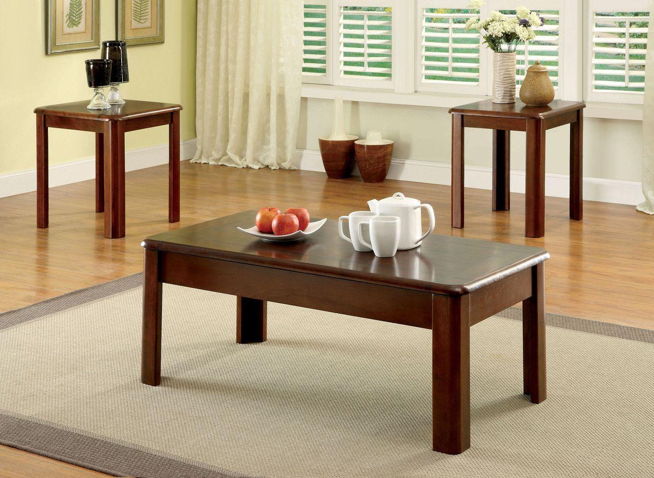 Coffee Table End Tables 3pc Set Cm4325 3pk Muebles [ 936 x 1280 Pixel ]