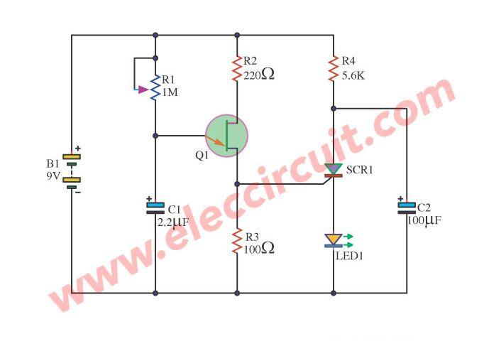 Strange Lamp Flasher Using Lm317 Basic Electronics Wiring Diagram Wiring Digital Resources Jebrpkbiperorg