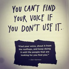 Image Result For Find Your Voice Quotes Quotes Voice Quotes