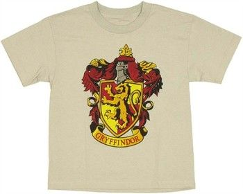 95bae19ef Harry Potter Gryffindor Crest Youth T-Shirt | T-Shirts Researches ...