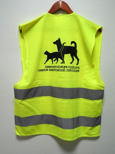 Turvaliivi Rescueyhdistys Kulkurit: http://www.promostar.fi/heijastinliivi