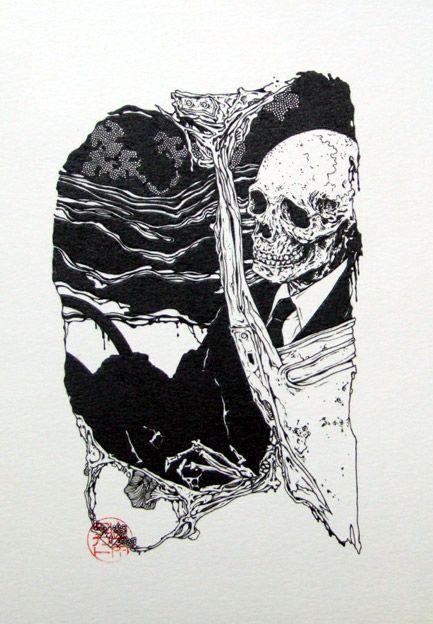 Takato Yamamoto Art Skull Art Yamamoto