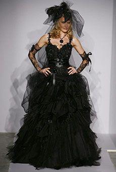 Pnina Tornai Black Wedding Dresses