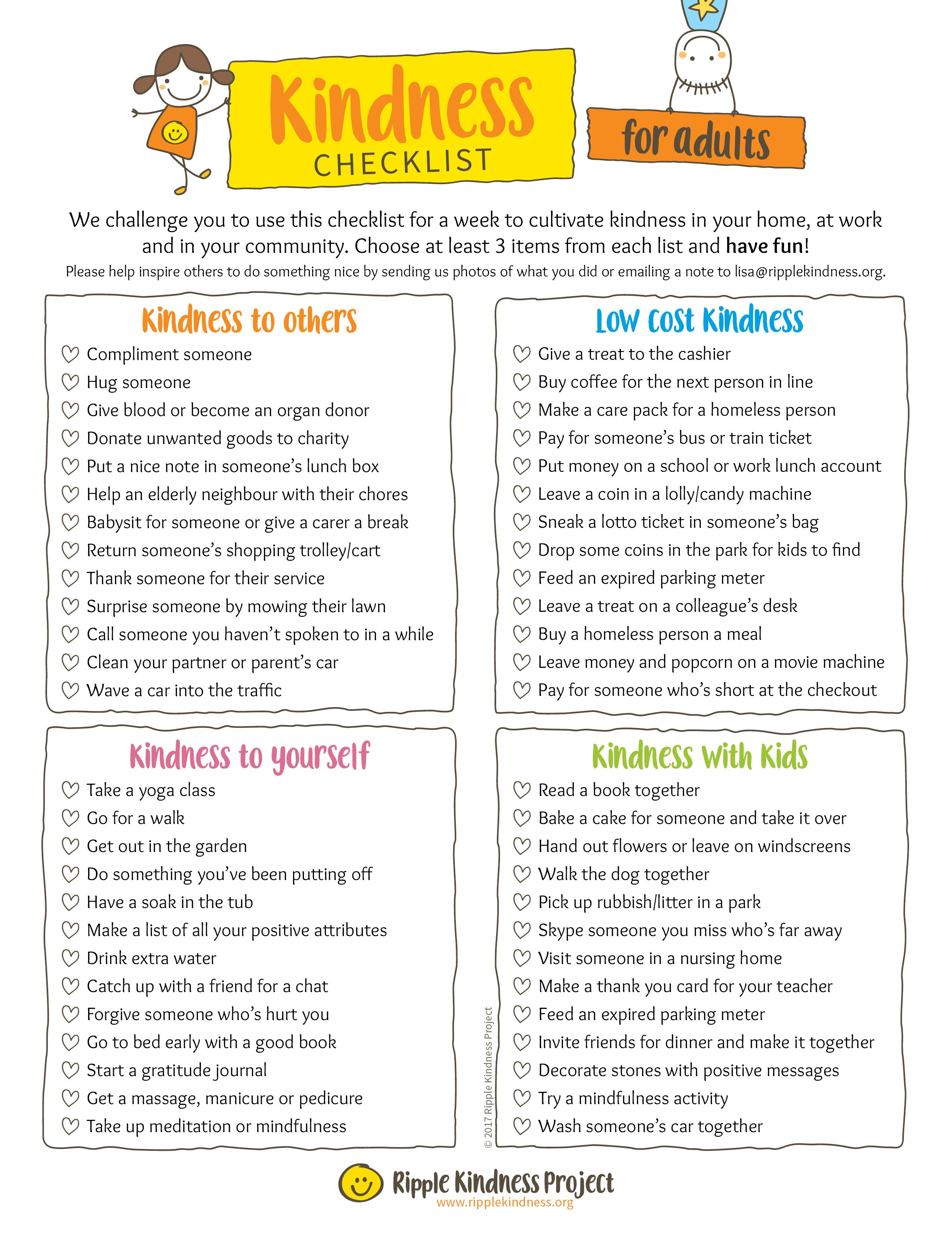 Pay It Forward Printable Worksheets Learning How To Read