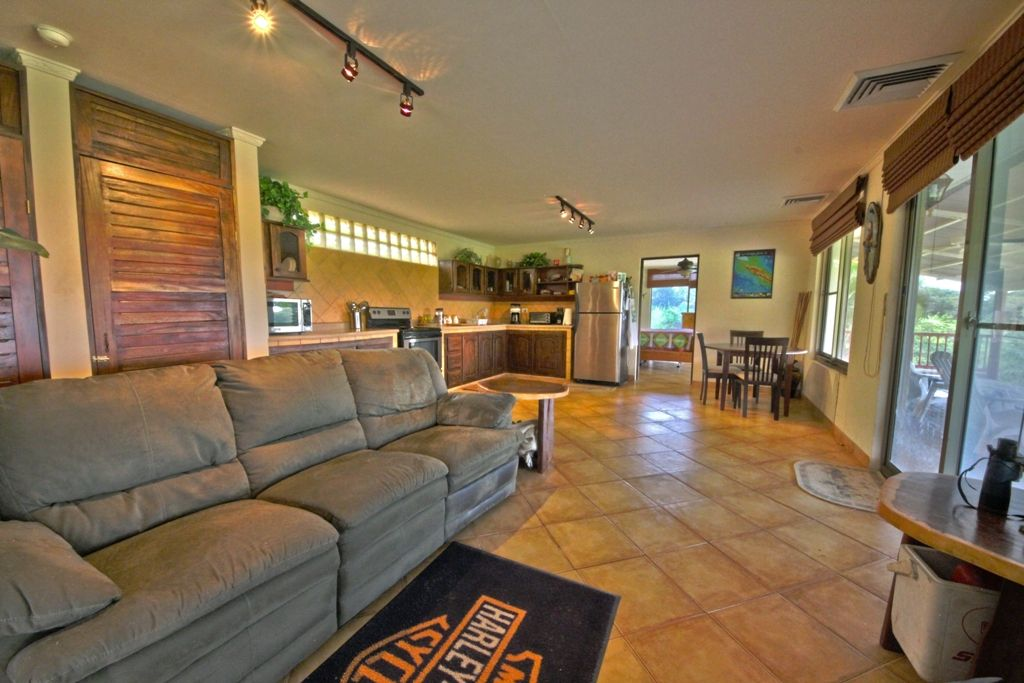 Another view of the living room/kitchen