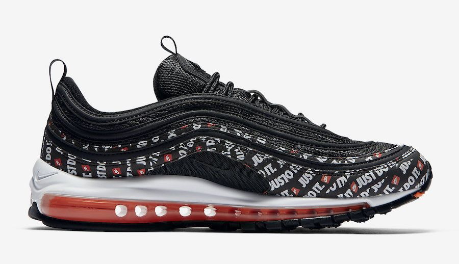 Nike Air Max 97 Black Total orange JDI AT8437 001