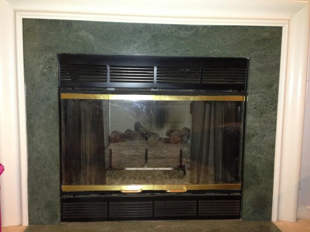 gas fireplace enclosures