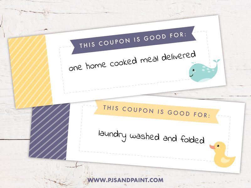 Free Printable New Mom Coupon Book Printable Baby Shower Gift Mom Coupon Book Mom Coupons Coupon Book