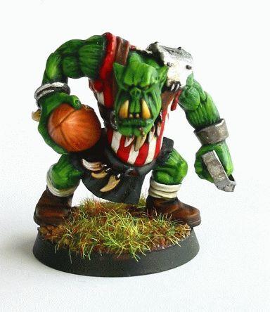blood bowl Orc