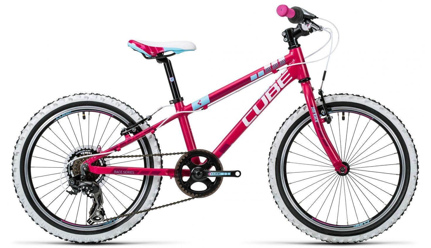 Cube Kid 200 Lapset lasten polkupyörä, vaaleanpunainen - Bikester - uskomattomaan hintaan