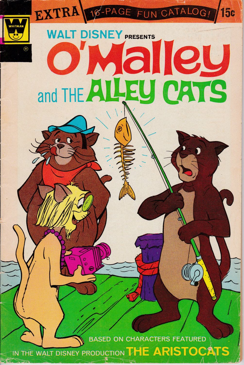 O' Malley and the Alley Cats 5 January 1973 Whitman