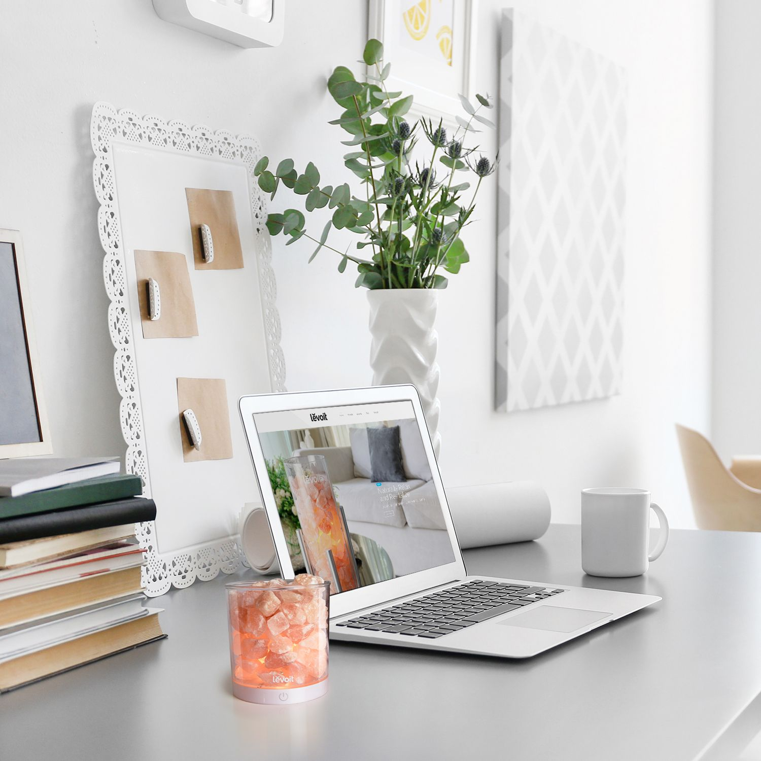 Add Personal Style To Your Work Desk With A Touch Controlled