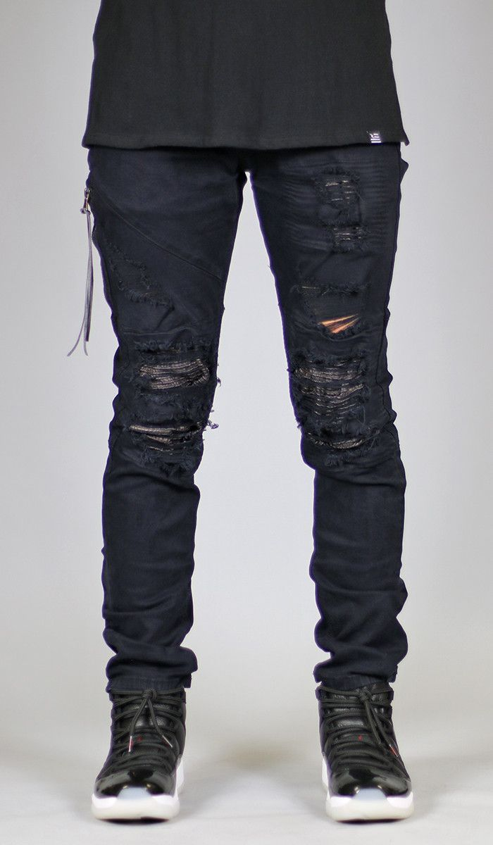 6a236cf83b0 Black Lozy Jean | Jeans I Like | Ripped jeans men, Stylish mens outfits,  Mens designer shirts