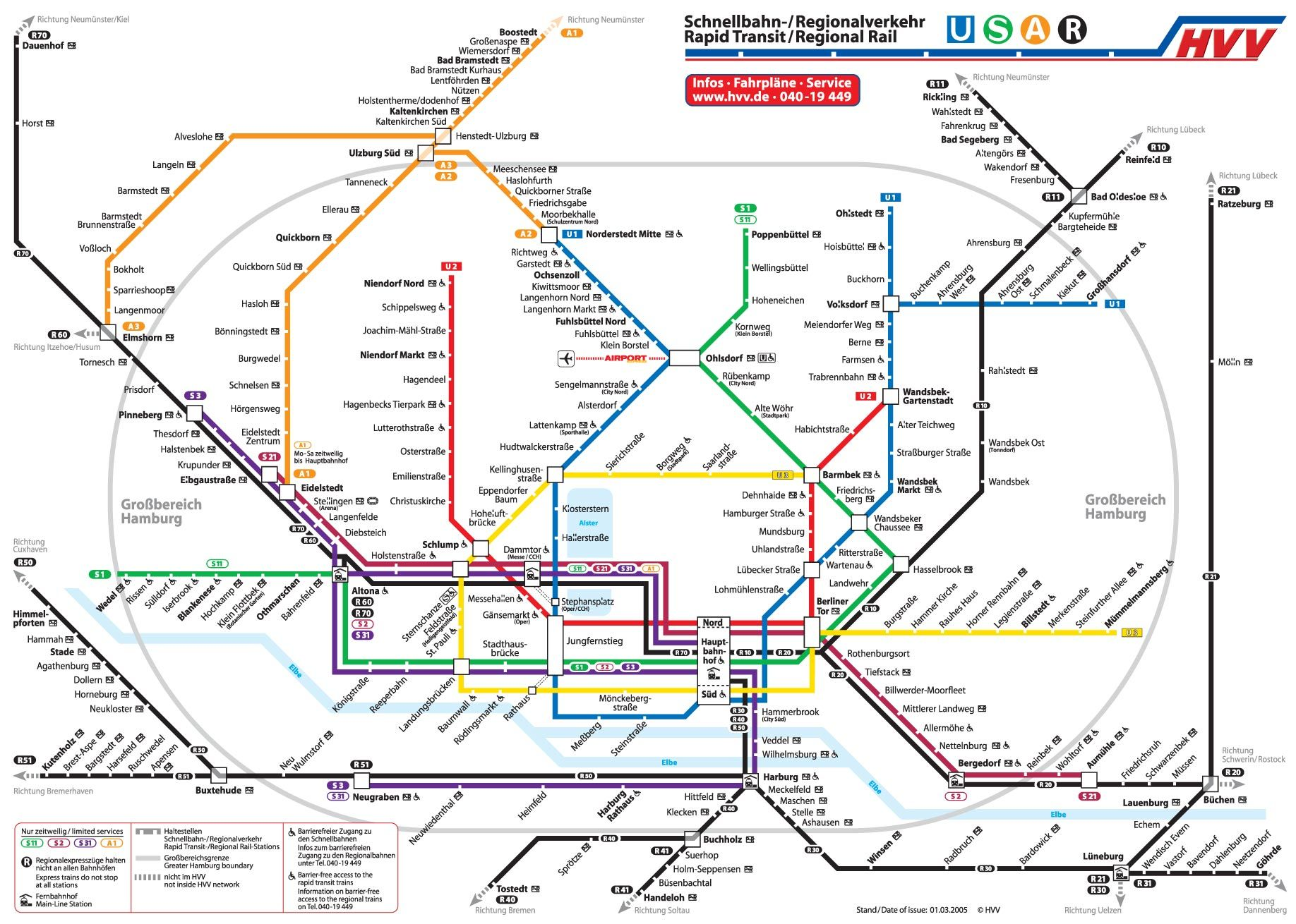 Hamburg Subway Map.Metro Map Of Hamburg Metro In 2019 Subway Map Train Map Hamburg