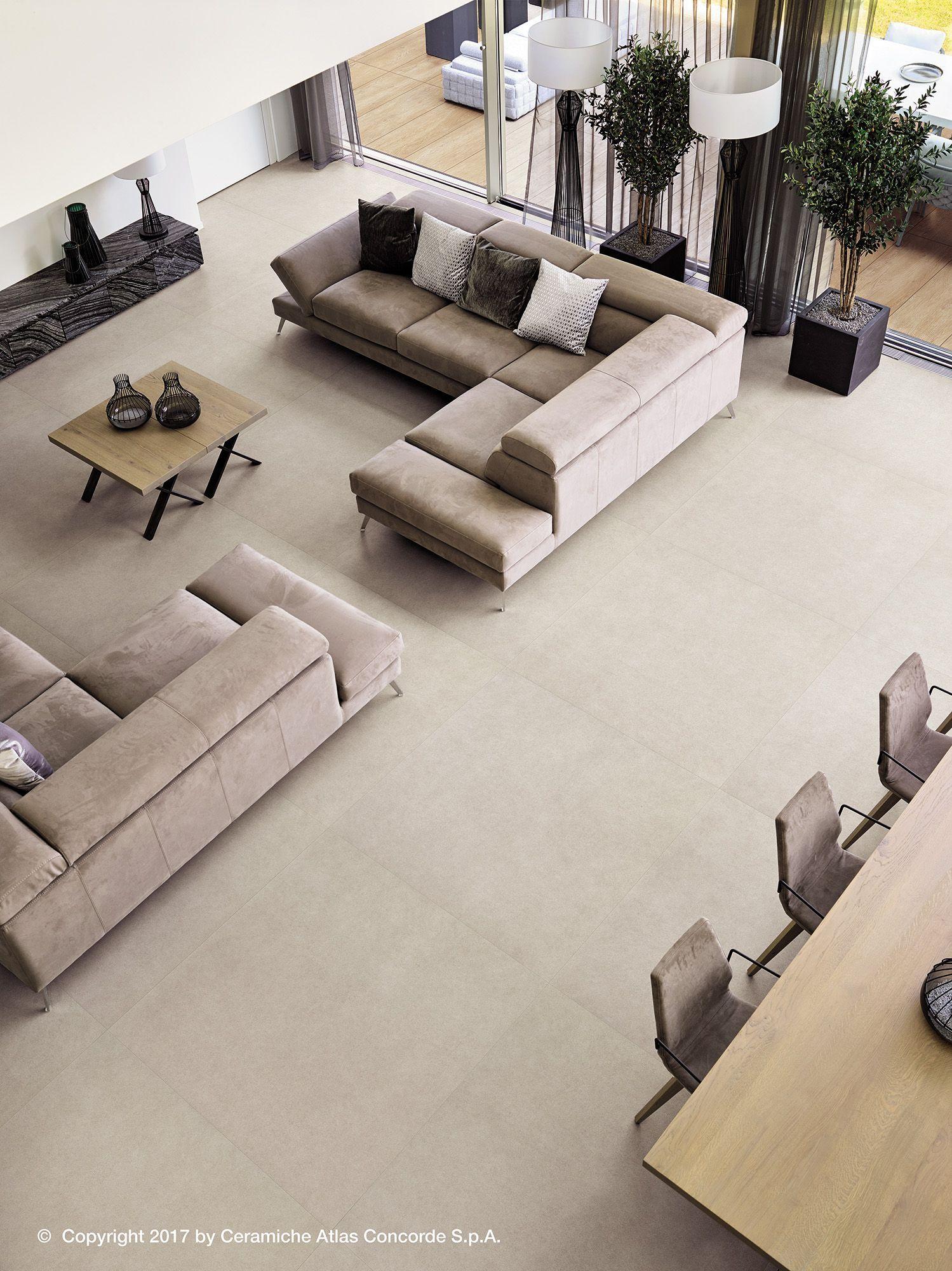 Concrete Inspired Flooring For Home Design In 2020 Living Room