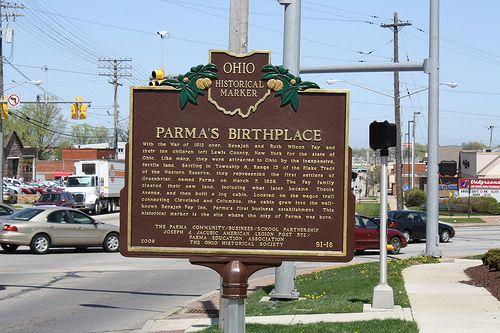 Parma's New Historical Marker | Historical marker, Ohio ...