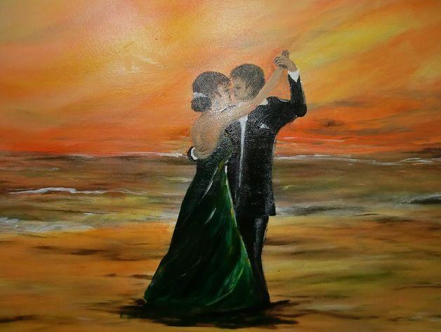 Acrylmalerei - in Love - ein Designerstück von failte2013 bei DaWanda