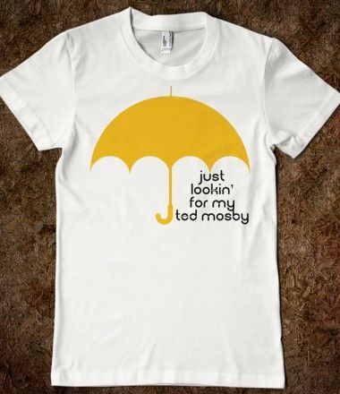 Must Have!!   HIMYM umbrella tee....please cansomeone get this for mybirthday lol