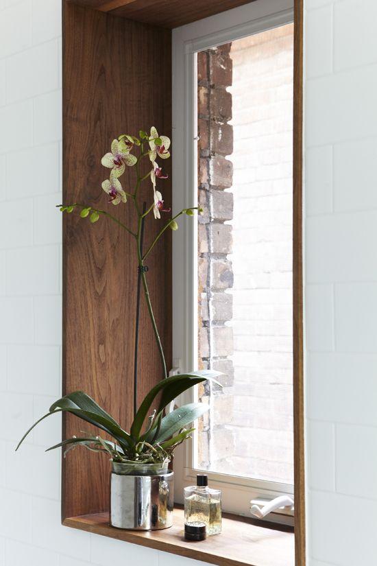 contour de fen tre en bois cuisine pinterest. Black Bedroom Furniture Sets. Home Design Ideas