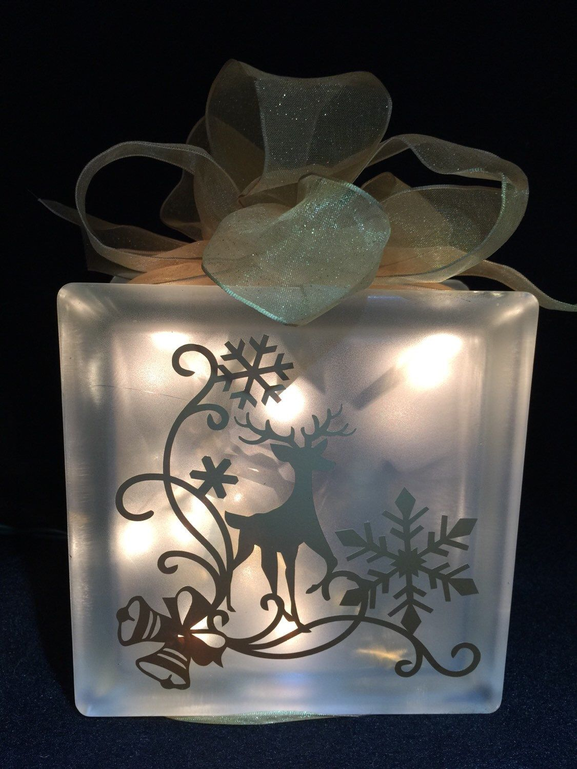 A personal favorite from my Etsy shop https://www.etsy.com/listing/212938816/reindeer-holiday-decor-handmade-glass