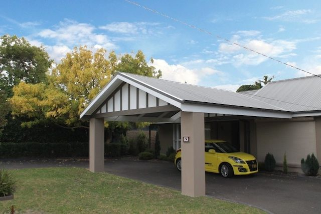 Formsteel Carports Google Search Carport Designs Modern Carport House Front