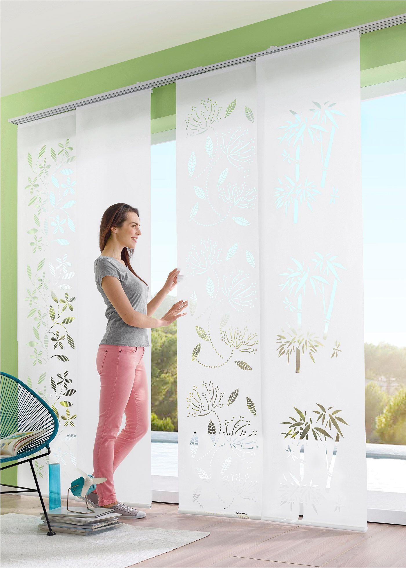 Len Schienensystem Ikea schiebegardinen befestigung wand dekoration ideen