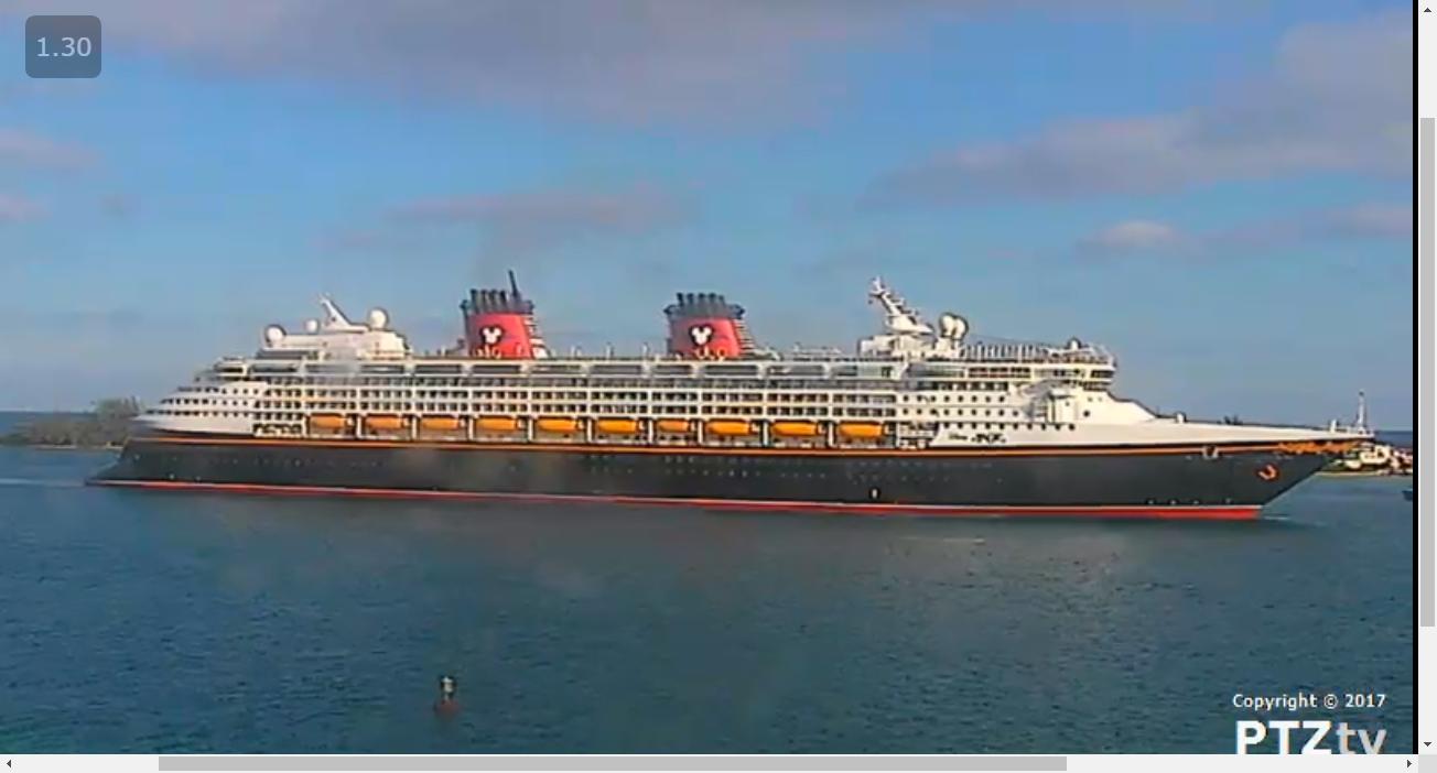 Port Nassau Webcam PTZtv Live Streaming Nassau Cruise Port Web - Cruise ship web cameras