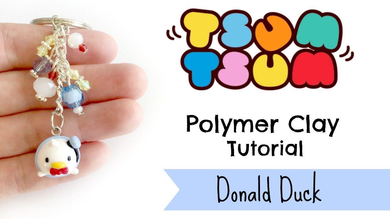 DIY Tsum Tsum Donald Duck Polymer Clay Tutorial ft. Aria Sakura