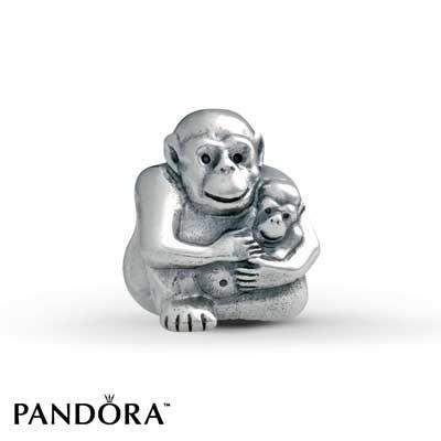 barbary ape pandora charm