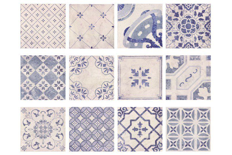 Parisian chic decor tiles are a contemporary patchwork tile with a vintage edge. With 14 charming Moroccan inspired patterns, a beautiful mix of floral and geometric in a muted blue antique high gloss finish.  Give your bathroom or kitchen some vintage charm, with these extremely popular tiles. Also available in a matching floor tile to complete your room.  Why not create your own design and use them along with our Parisian Chic white base tiles.  Each pack of decor tiles comes as a…