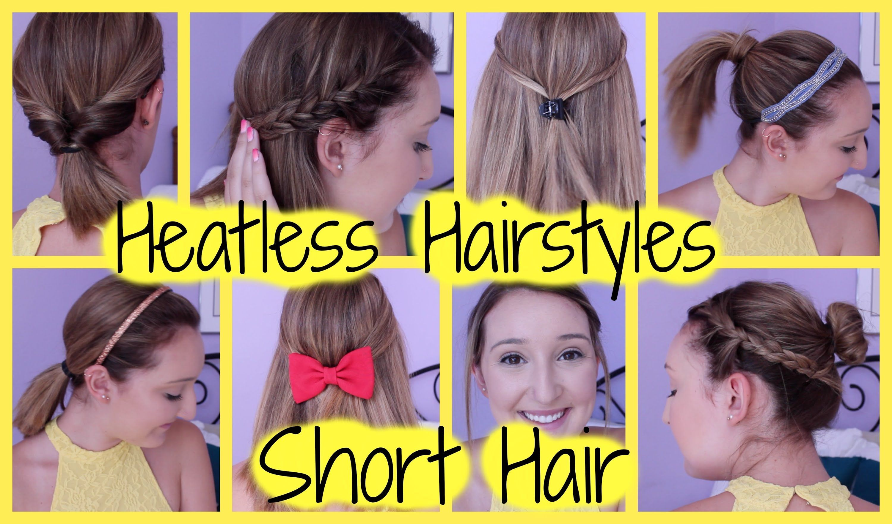 Quick n easy hairstyles for short hair hairstyles