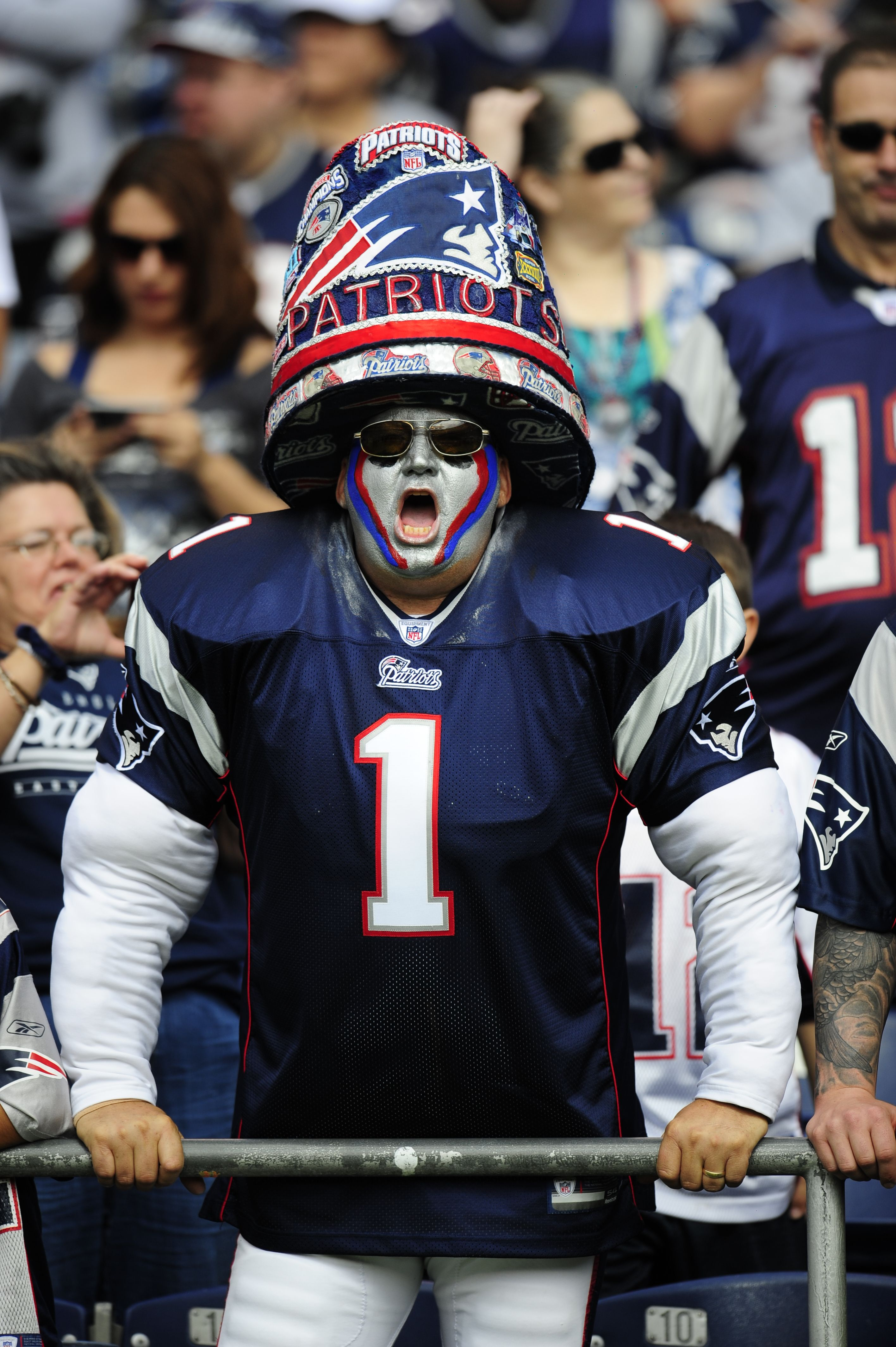 That guy! Patriots This will be me at my first pats game