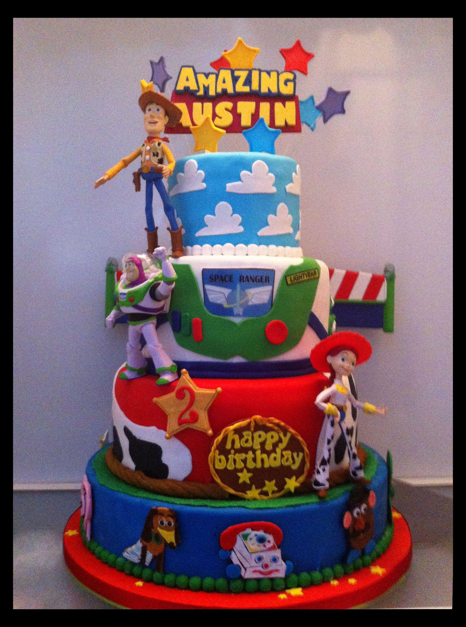 Birthday Toys For 9 : Birthday cake toy story kids party