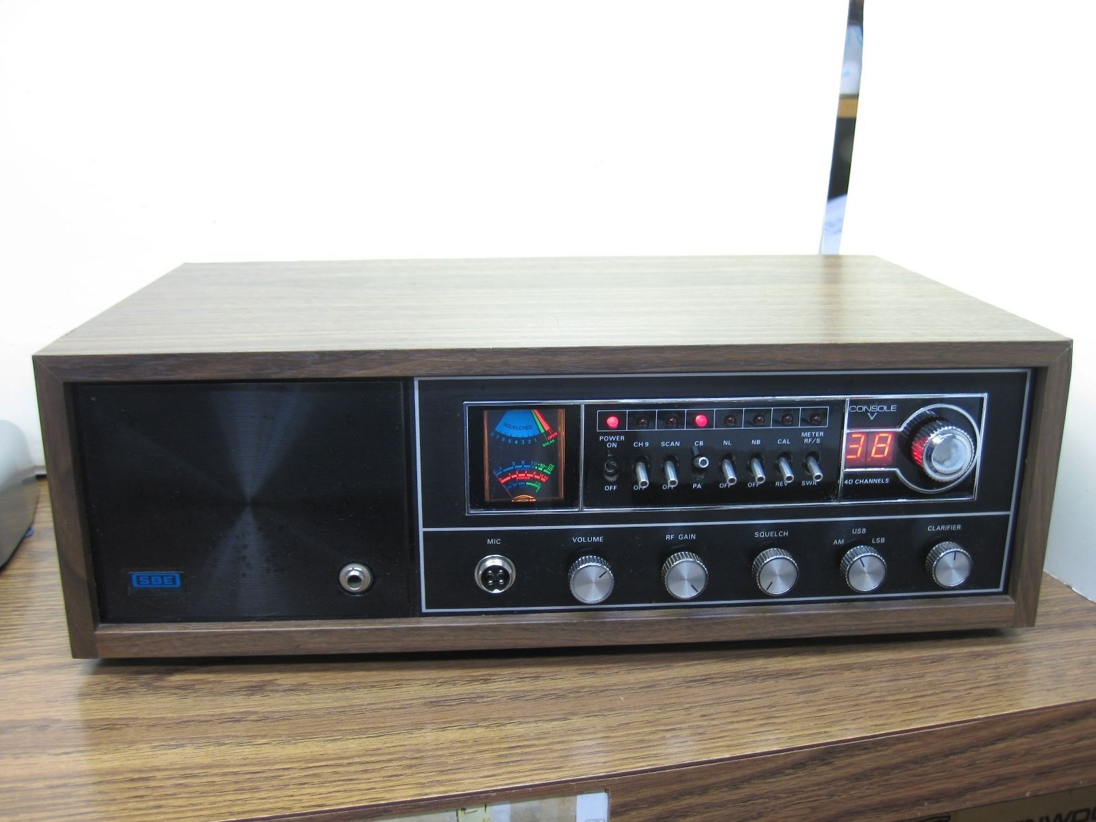 SBE Console V Vintage CB Radio | Radio Communications | Citizens