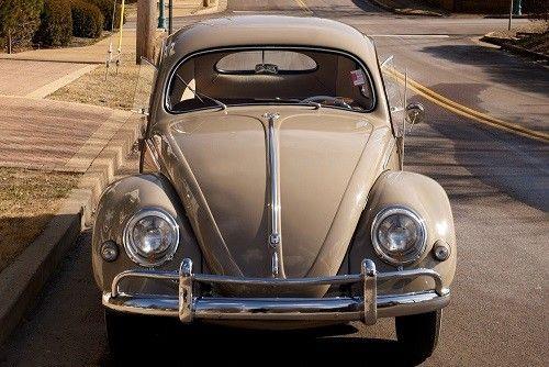 1956 Volkswagen Beetle Oval Window Model Nut And Bolt