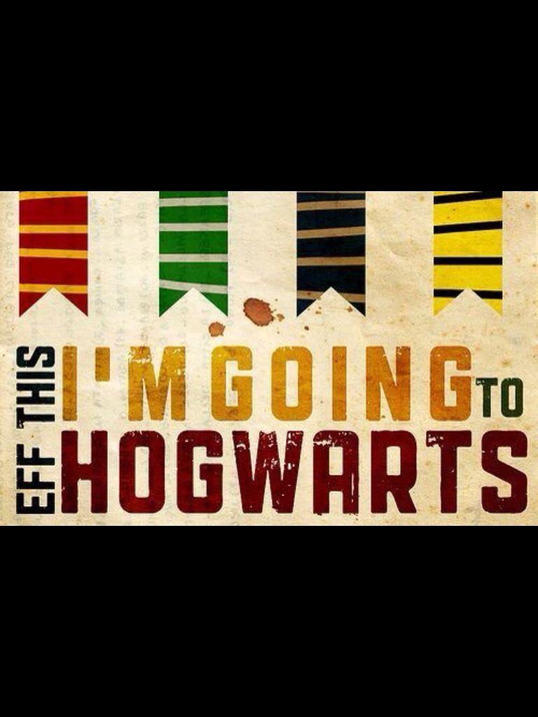 I'm going to Hogwarts