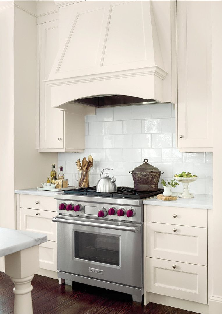 - Kitchen Backsplash. Here, The Overscale 6- By 9-inch Subway Tiles