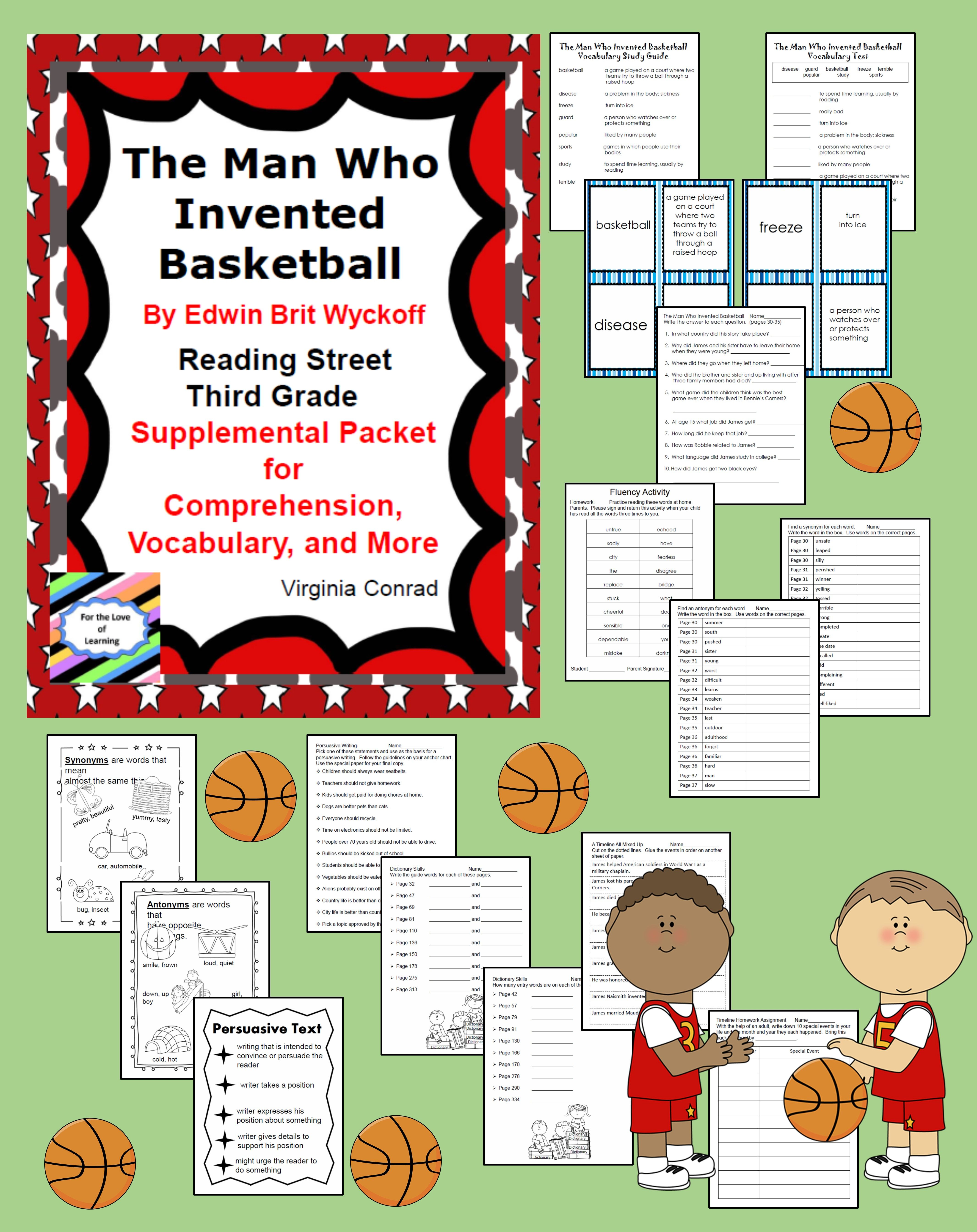 The Man Who Invented Basketball Supplemental Packet