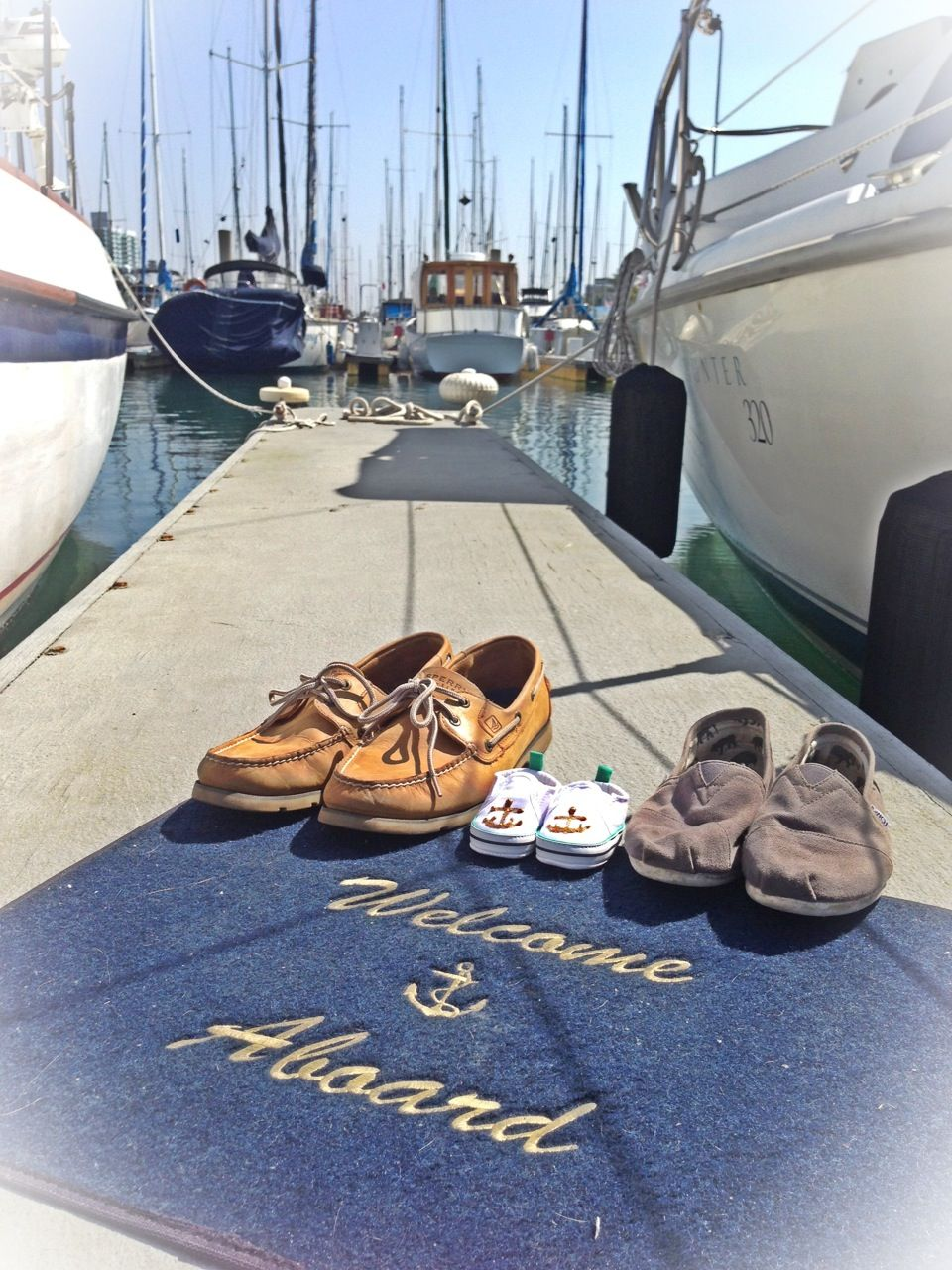 our nautical baby announcement a new member is joining our crew in september