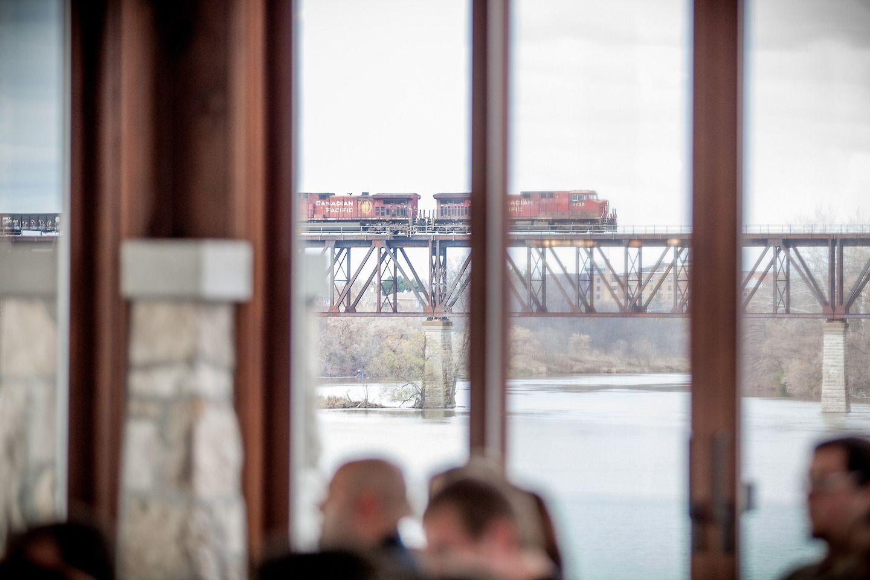 Wedding Venue Unique Features Trains Cambridge Mill Ontario Canada