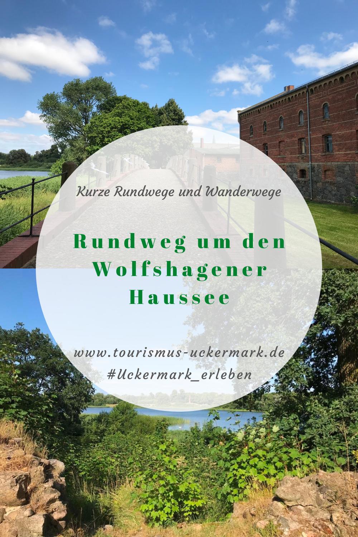 Rundweg Um Den Wolfshagener Haussee Tourismus Wandern Denkmal