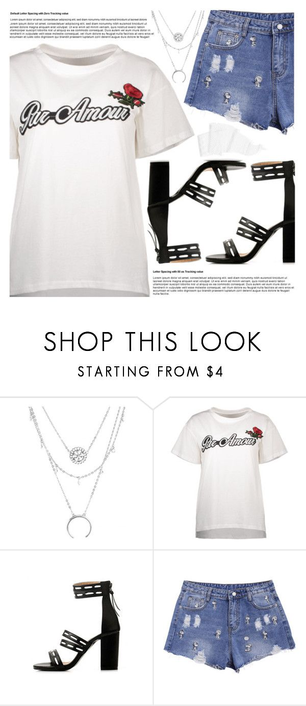 """Text Tee"" by pastelneon ❤ liked on Polyvore"